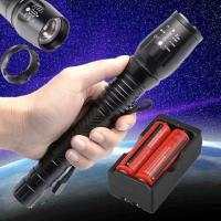 Buy cheap 2500LM Tactical XML T6 LED Light Flashlight Torch+2X 18650 Battery+Charger 2494 Save $ 1505 from wholesalers