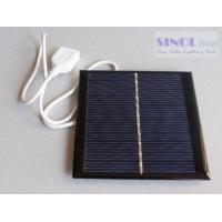 Buy cheap 5.5V1W Poly solar panel Epoxy resin solar panel USB solar panel charger from wholesalers