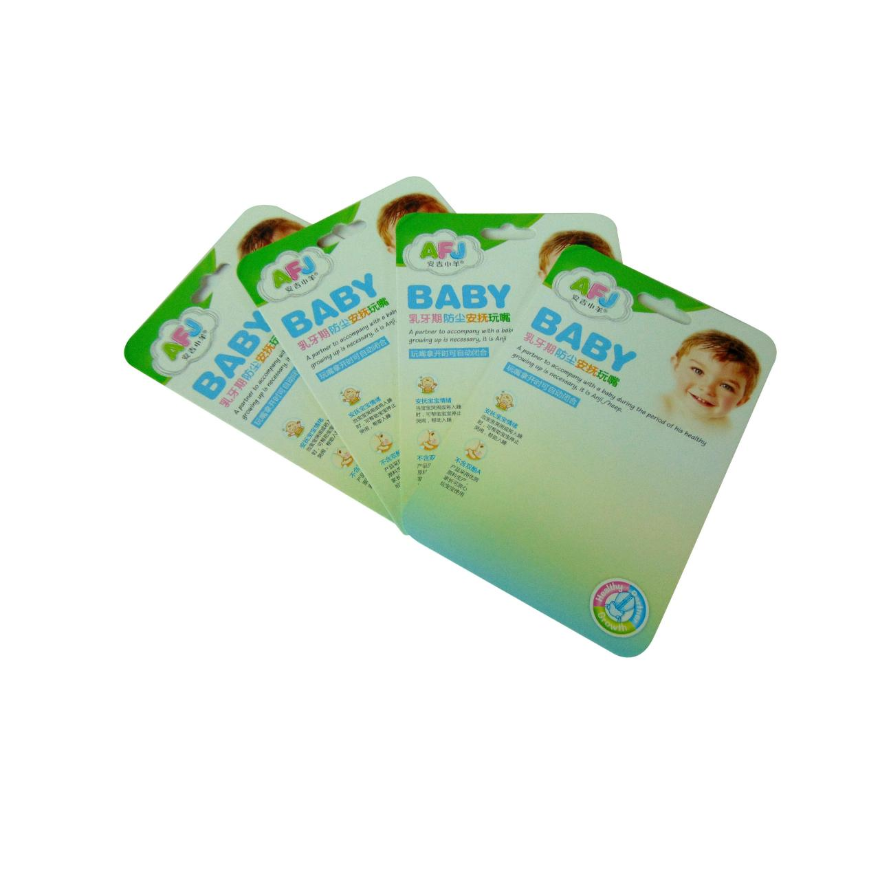 Buy cheap Blister packaging back card WX-B1003 from wholesalers