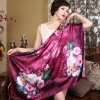 Buy cheap 110*110 Square 100%Silk Scarf from Wholesalers