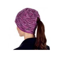 Buy cheap Ladies Super Dye Knit Ponytail Beanie MT60012H from wholesalers