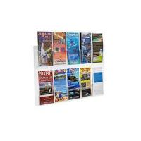 Buy cheap Clear Acrylic 10-Pocket Wall Mount Brochure Holder from wholesalers