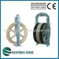 Buy cheap wire rope pulleys for electric power transmission china from Wholesalers