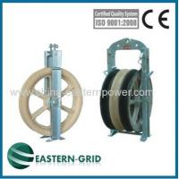 Buy cheap overhead transmission line wire rope pulleys china from Wholesalers
