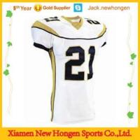 Buy cheap Embroidery,tackle twill American football jerseys\uniforms\wear from Wholesalers