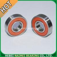 Buy cheap 6001 2RS Bearings Red rubber sealed from Wholesalers