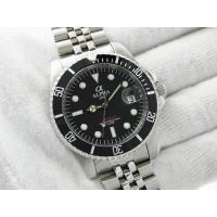 Buy cheap ALPHA SUBMARINER MATTE BLACK DIAL JUBILEE BRACELET AUTOMATIC MANS WATCH from Wholesalers