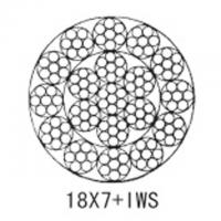 Steel aircraft cable 18X7+IWS