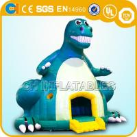 Buy cheap inflatable dinosaur bounce houses,Giant inflatable dinosaur bouncy castles,Jumping castles from Wholesalers