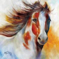 China Indian Pony Canvas wall art by Marcia Baldwin on sale