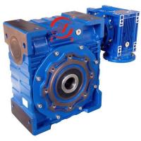 Buy cheap Double Combination of NMRV Worm Reducers Doulbe worm gearbox NMRV075/150 from wholesalers