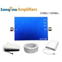 Buy cheap Sanqino Home 2G/3G Dual Band Cell Phone Signal Amplifier from Wholesalers
