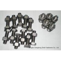 Buy cheap A325/A490 Type1 Heavy Hex Bolts Hot Dipped Galv. Black, Zp. from Wholesalers