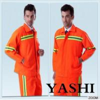 Buy cheap Uniform Hot Sell New Design Orange Safety Worksuit from Wholesalers