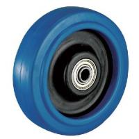 Buy cheap Product Model:A4045 Product Name:Heavy Duty Elastic Rubber wheel caster from Wholesalers