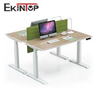 China Height adjustable working table by Kintop China factory on sale