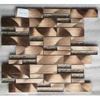 Buy cheap Mosaic Brown Aluminum and Glass Mosaic from wholesalers