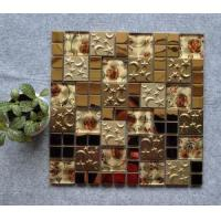 Buy cheap Mosaic Glass Mosaic with Stainless Steel from wholesalers