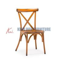 Buy cheap Vintage Style Restaurant Series Cross Back Chair from wholesalers