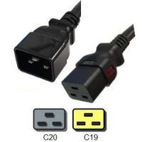 Buy cheap Power Cords Auto-Lock C20 to C19 Power Cords - Black, 20A, 250V from wholesalers