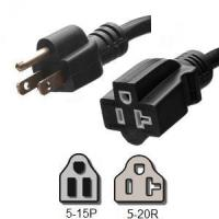 Buy cheap Power Cords 5-15P to 5-20R Power Cords from wholesalers