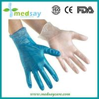 Buy cheap Disposable Medical Products Vinyl gloves blue from Wholesalers