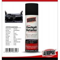 Aeropak Automotive Dashboard Wax Spray Protective For Leather / Plastic / Rubber