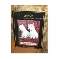 Buy cheap Robert Opie A5 Metal Sign West Highland Dogs Retro from Wholesalers