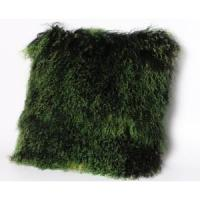 Mongolian Lamb Fur Floor Cushion Dyed Double Color