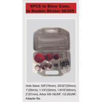 Buy cheap Bi metal hole saw 9PCS In blow case,in double blister 66309 from Wholesalers