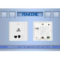 In Wall Wireless Access Point 802.3af 48V Passive PoE With LAN Port Phone Port