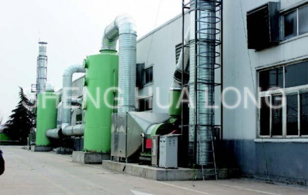 Quality Green Facilities Purification absorption tower waste gas treatment technology for sale