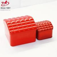 Chinese red tin / red tins with different shapes