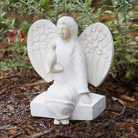 Accents Stone Angel with Dove Item #: 31173