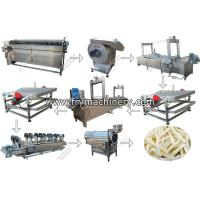 Buy cheap Potato French Fries Automatic Making Machine from wholesalers