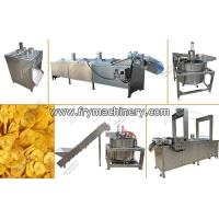 Buy cheap Fully Automatic Banana Chips Making Machine|Potato Chips Processing Line from wholesalers