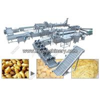 Buy cheap Commercial Fresh French Fry Manufacturing Plant Price - French Fries Machine from wholesalers