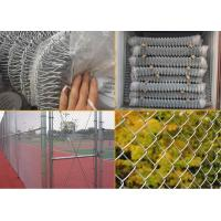 Buy cheap Galvanized Chain Link Fence Chain Link Fence from wholesalers
