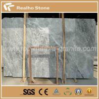 Nature Polished Silver Mink Grey Marble Slab for Building Material