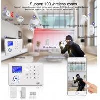 China BL-6600 TFT touch screen WIFI & GSM & 3G home/business intelligent alarm system on sale