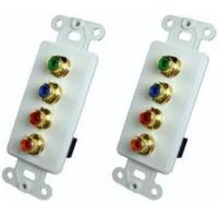 Buy cheap AZBLN1169W RGB Video / Digital Audio Wall Plate Insert With Plates from wholesalers
