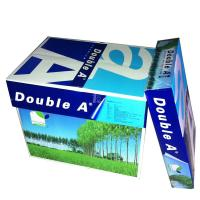 Buy cheap Metal products Top quality Double A A4 paper one 80 gsm 75gsm 70 gram Copy Paper from Wholesalers