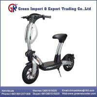 Buy cheap Two Wheel Self Balancing Scooter With Seat from wholesalers