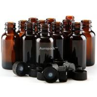 Buy cheap Auropack30ml(1oz)AmberBostonBottlew/Cap,Packof12 from wholesalers