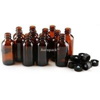 Buy cheap Auropack60ml(2oz)AmberBostonBottlew/Cap,Packof12 from wholesalers