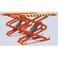 Automotive Lift 3.5 Ton Small Scissor Lift (in ground, double extension), GC-3.5S(B)