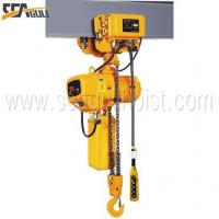 Buy cheap SGW Electric Trolley Type Hoist with Dual Speed from Wholesalers