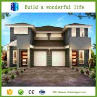 Portacabin steel prefabricated houses with decor
