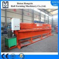 Aluminum Profile Hydraulic Shearing Machine Hydraulic Pump 4m Width Panel Suit