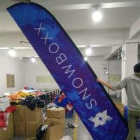 Custom Promotion Feather Flag Banner Signs for Outdoor Advertising
